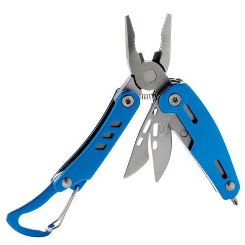 XD Collection multitool mit Karabinerhaken Massiv 8,3 cm Edelstahl blau