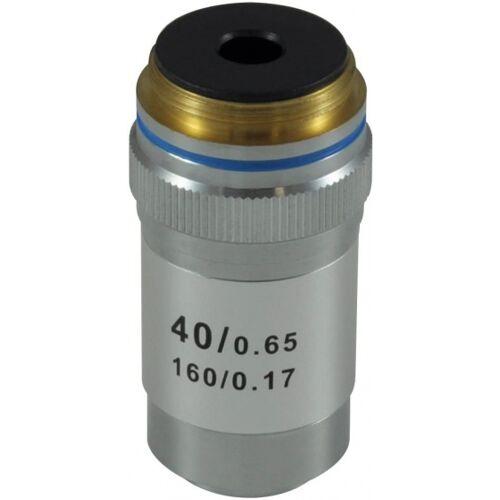 Bresser objektiv 40x Mikroskop 1,6 cm Silber