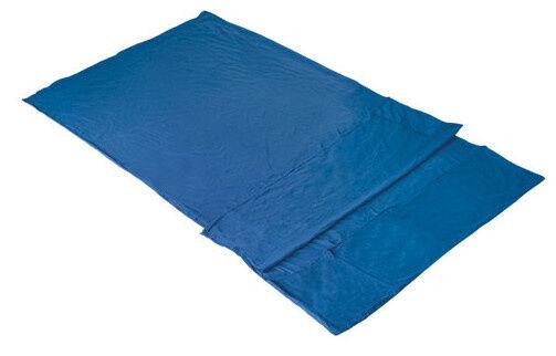High Peak leintasche Licata 225 x 180 cm Baumwolle blau