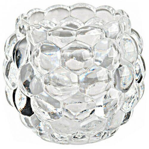 Arti Casa kerzenhalter Kristall 8 cm transparent
