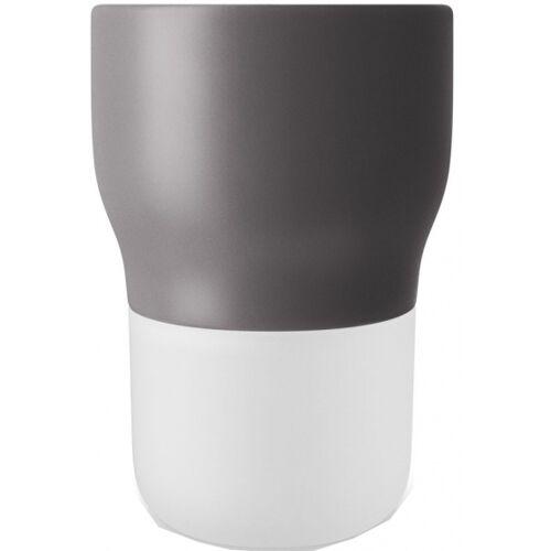 Eva Solo blumentopf mit Bewässerungssystem 13,5 cm Glas grau
