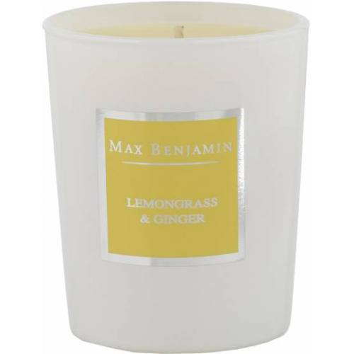 Max Benjamin duftkerze Zitronengras und Ingwer 6,7 x 8 cm gelb