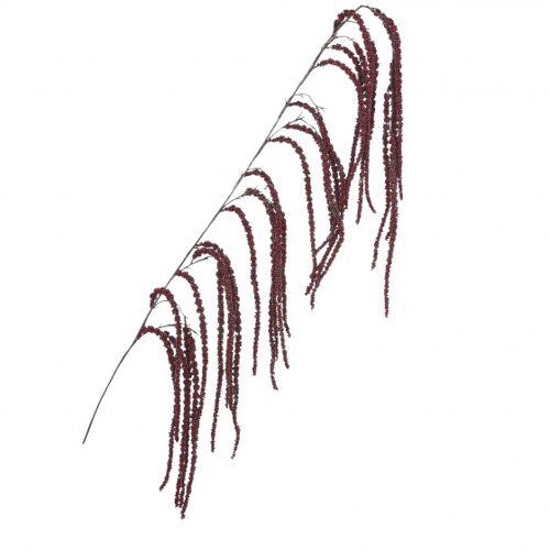 Mica Decorations künstliche Pflanze Amaranthus 167 x 23 cm rot