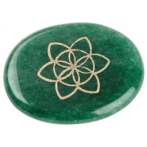 Moses edelstein Omm For You grüne Jade 6 x 7 cm