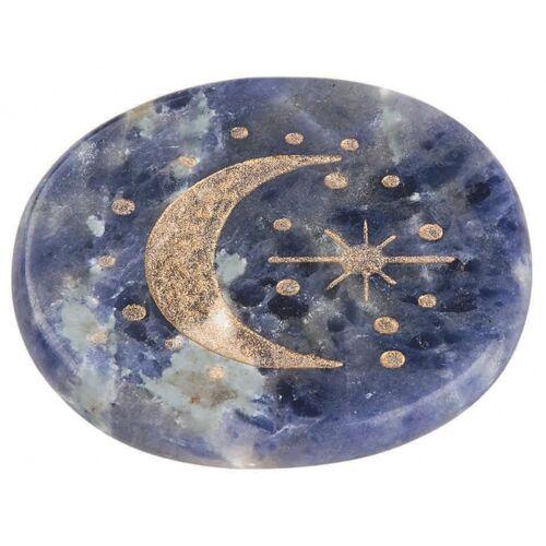 Moses edelstein Omm For You lapis lazuli 6 x 7 cm Stein blau
