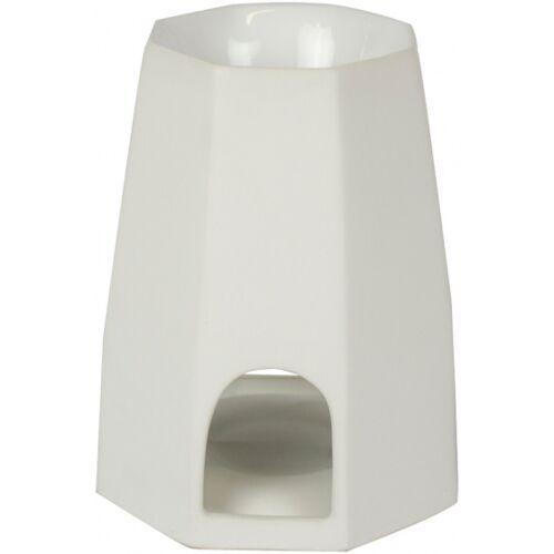Scentchips kerzenhalter Octo Matt 16 cm Keramik weiß