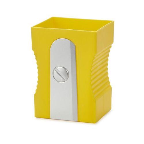 Balvi bleistiftspitzer 11,5 x 8,5 cm gelb