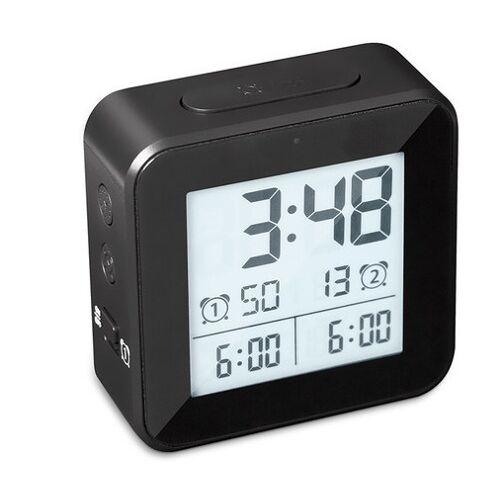 Balvi wecker digital 8,2 cm LCD ABS schwarz