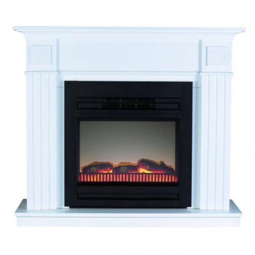 Classic Fire kamin 115 x 32 x 40 cm Holz weiß 4 teilig