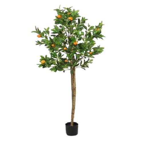 Countryfield kunstpflanze Citrus SinensisS 70 x 170 cm grün/orange
