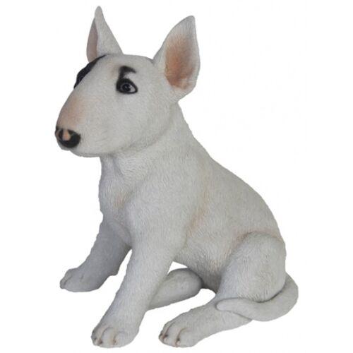 Esschert Design bullterrier 32,9 x 26,4 cm Polyresin weiß