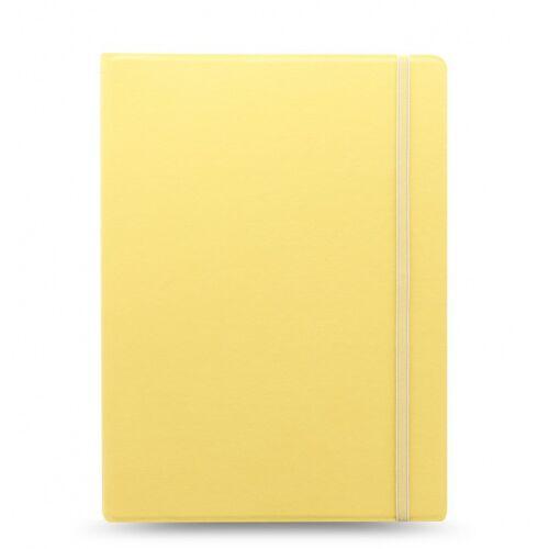 Filofax notizbuch Classic Pastel A4 Papier/Kunstleder gelb