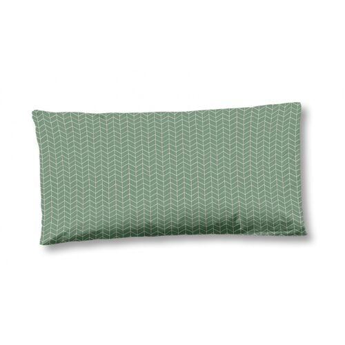 Hip kissenbezug 40 x 80 cm Baumwolle/Satin grün