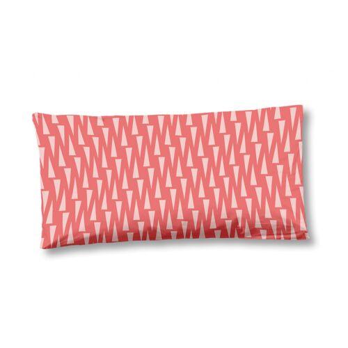 Hip kissenbezug 40 x 80 cm Baumwolle/Satin rosa
