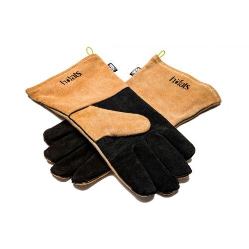 Höfats handschuh hitzebeständig 35 x 17 cm Leder braun/schwarz