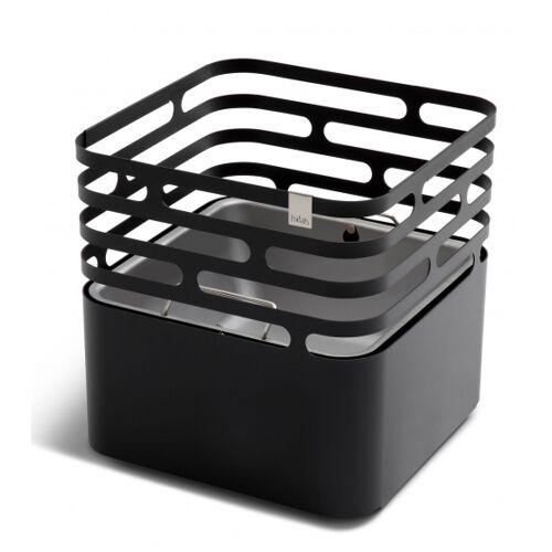 Höfats feuerkorb Cube 43 x 44 cm Edelstahl schwarz