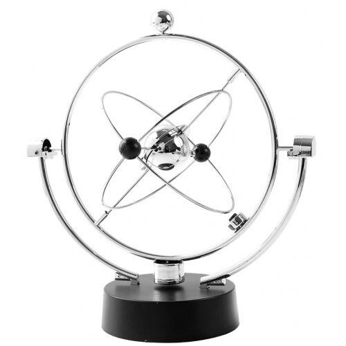 I-Total I Total kinetisches Uhrwerk Kosmos 22,5 x 24,5 cm Stahl silber