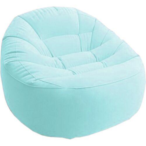 Intex aufblasbarer Stuhl Beanless Bag 112 x 104 cm Vinyl blau