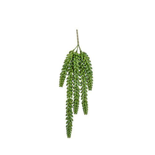 Present Time künstliche Pflanze Bohnenblätter Stängel 17 cm grün