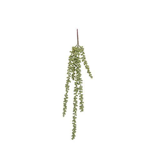 Present Time künstliche Pflanze Bohnenblätter Stängel 71 cm grün