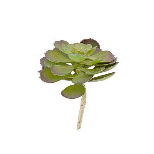 Present Time kunstpflanze Henne Succelent Pick 17,1 cm grün