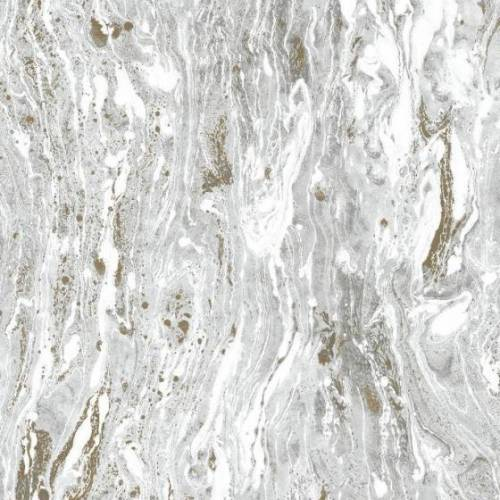 RoomMates hintergrundbild Peel and Stick Sat. Seas 575 cm Vinyl silber