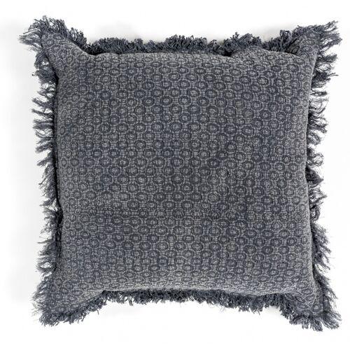 Sense' Living zierkissen Zara 45 x 45 cm Textil grau