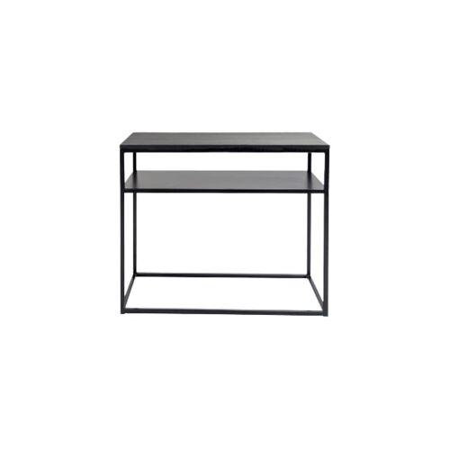 Sense' Living wandtisch Zoro 90 x 40 cm Holz/Edelstahl schwarz