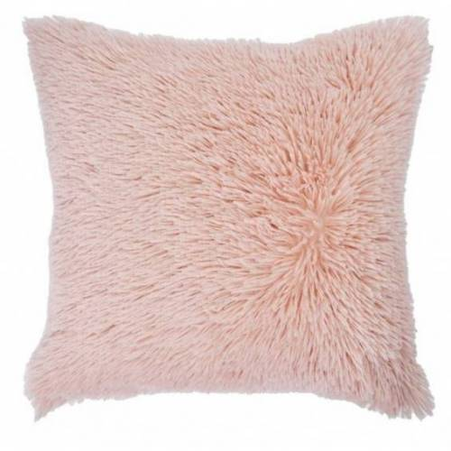 Rox Living kissen Shaggy 50 x 50 cm Textil rosa