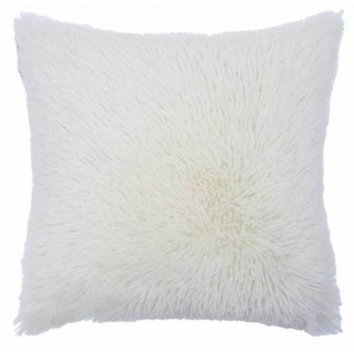 Rox Living kissen Shaggy 50 x 50 cm Textil weiß