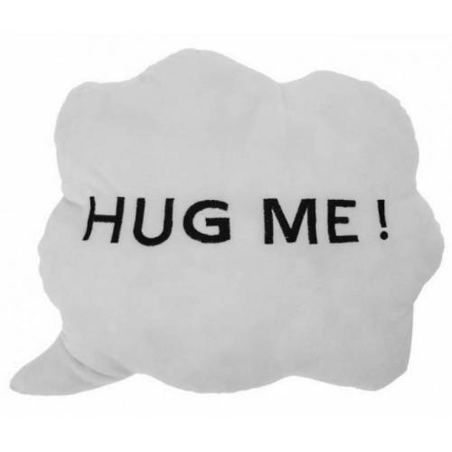 Rox Living wolkenkissen Hug Me!35 x 30 x 10 cm Plüsch weiß