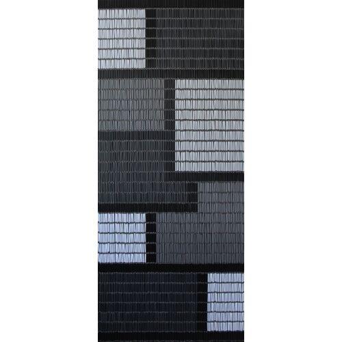 Sun-Arts Sun Arts fliegenvorhang Blocks Ärmel 210 x 90 cm PVC grau