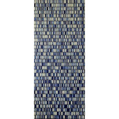 Sun-Arts Sun Arts fliegengitter Mix Ärmel 210 x 90 cm PVC blau/creme