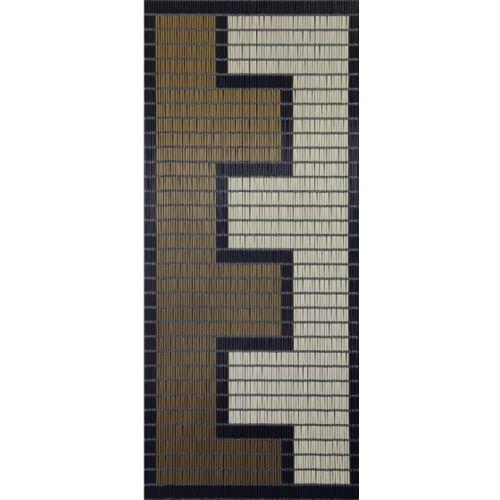 Sun-Arts Sun Arts Ärmel für Fliegengittervorhänge Rits232 x 100 cm PVC braun/creme