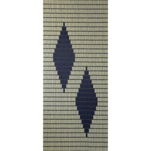 Sun-Arts Sun Arts Ärmel für Fliegengittervorhänge Ruiten210 x 90 cm PVC creme/blau