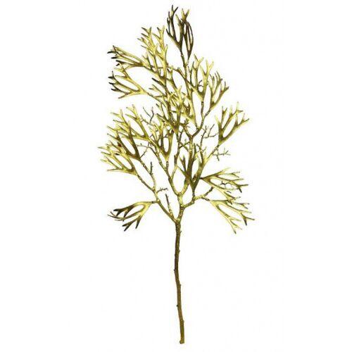 Gifts Amsterdam kunstpflanze Hirsch Hoorn Farn 82 cm Seide gold/braun