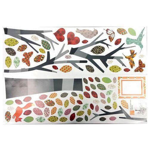 Walplus wandaufkleber Baum 132 x 163 cm PVC 2 teilig
