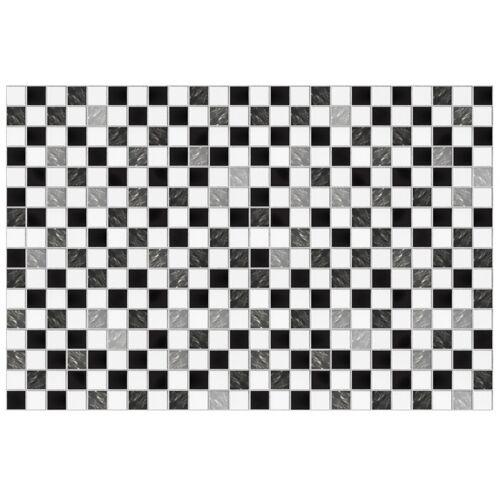 Walplus wandaufkleber Marmor Mosaik 15 x 15 cm PVC 24 Stück