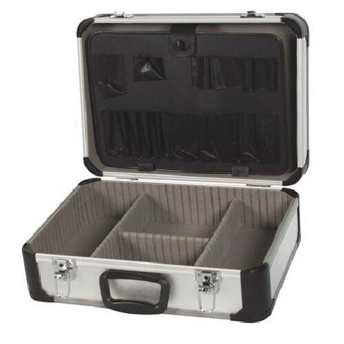 Perel werkzeugkoffer 25 Liter Aluminium silber