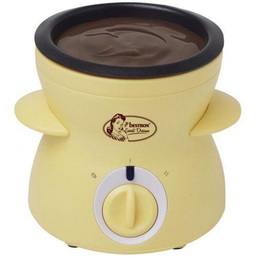 Bestron schokoladenfondue Sweet Dreams 0,3 L 25W 13,5 cm gelb