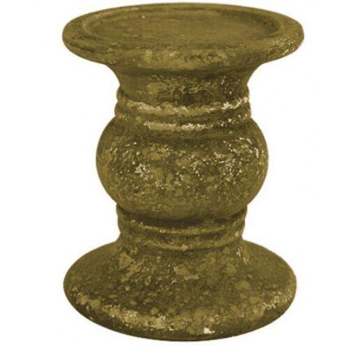 Countryfield kerzenständer Nebo 20,5 x 25 cm Keramik gold
