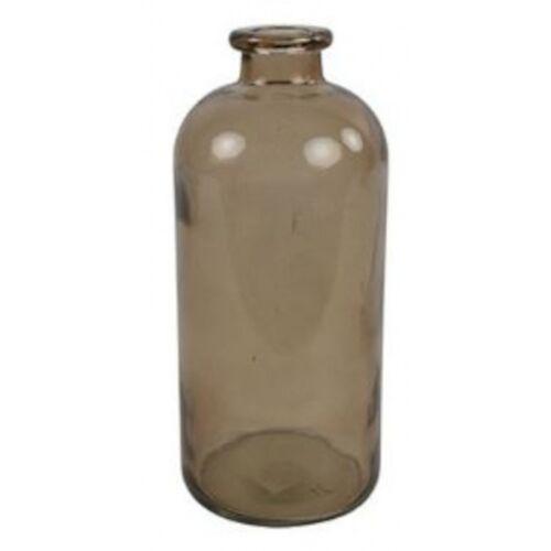 Countryfield vase Dawn 11 x 25 cm Glas braun