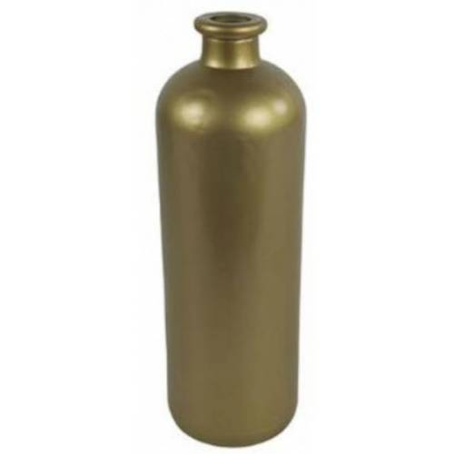 Countryfield vase Dawn 11 x 33 cm Glas gold