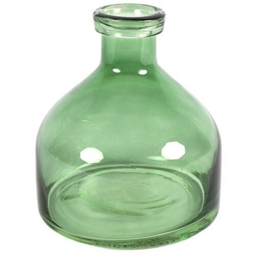 Countryfield vase Missy 18 x 20 cm Glas grün