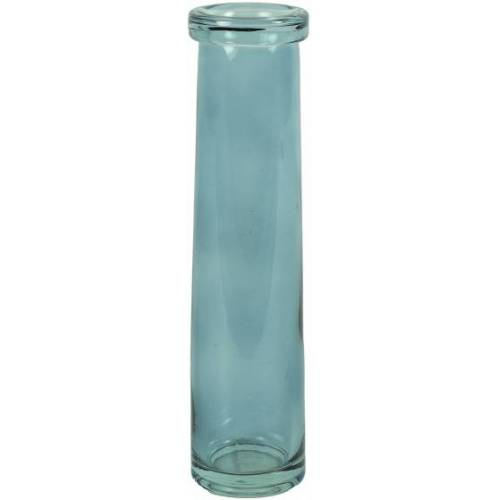 Countryfield vase Missy 7 x 28,5 cm Glas blau