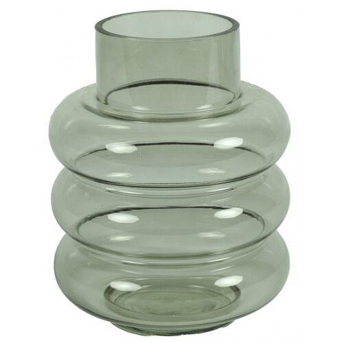 Countryfield vase Nikky 17 x 17 x 22,5 cm Glas grau