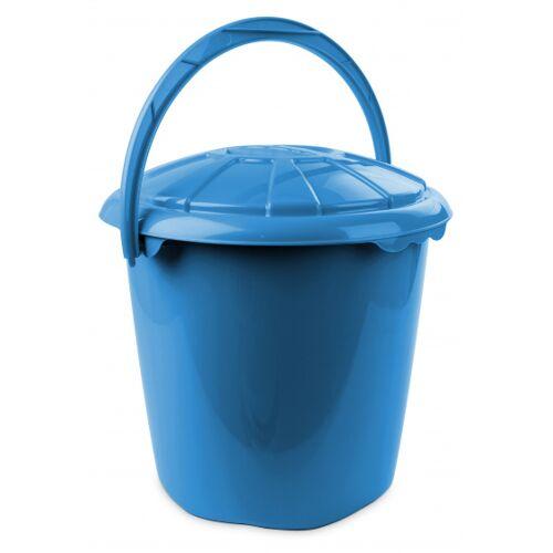 Hega abfallbehälter Star 14 Liter 34 x 32,5 cm blau