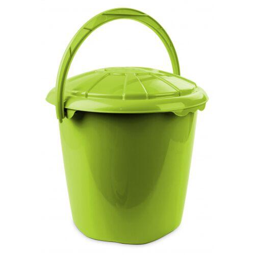 Hega abfallbehälter Star 14 Liter 34 x 32,5 cm rot