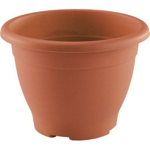 Hega blumentopf Decor 1,8 Liter 18 cm braun