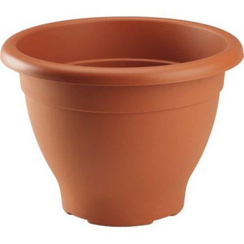 Hega blumentopf Decor 5 Liter 25 cm braun
